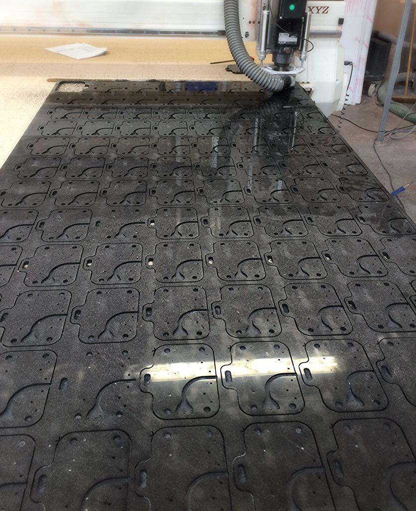 Plastic Sheet Machining Cnc Machining Plastic Parts Cnc