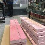 GPO3 Parts Machined, polyester glass machining