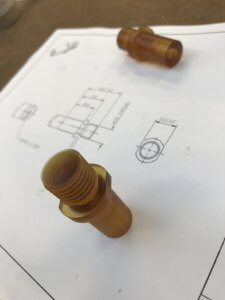 Machined Ultem Parts - Plastic Turned Parts