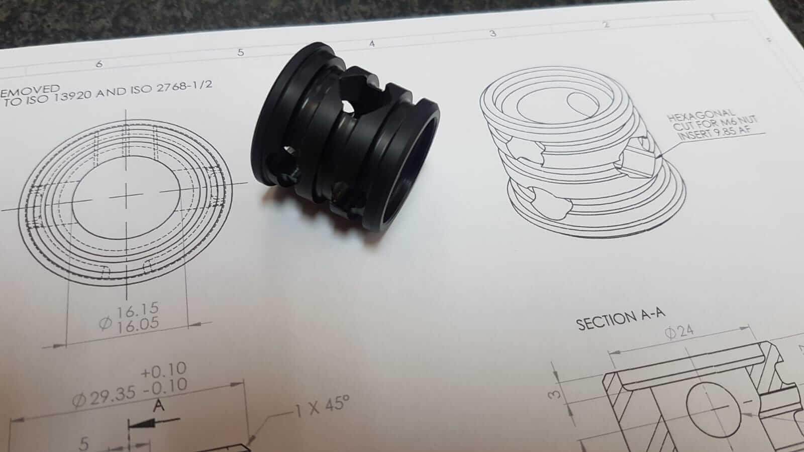 Nylon 66 Turning - Plastic Machining Engineering